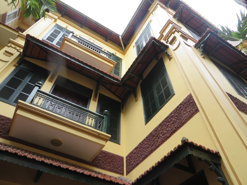 4 storey house for rent in Pham Ngoc Thach street, Dong Da.
