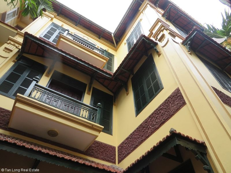4 storey house for rent in Pham Ngoc Thach street, Dong Da. 1