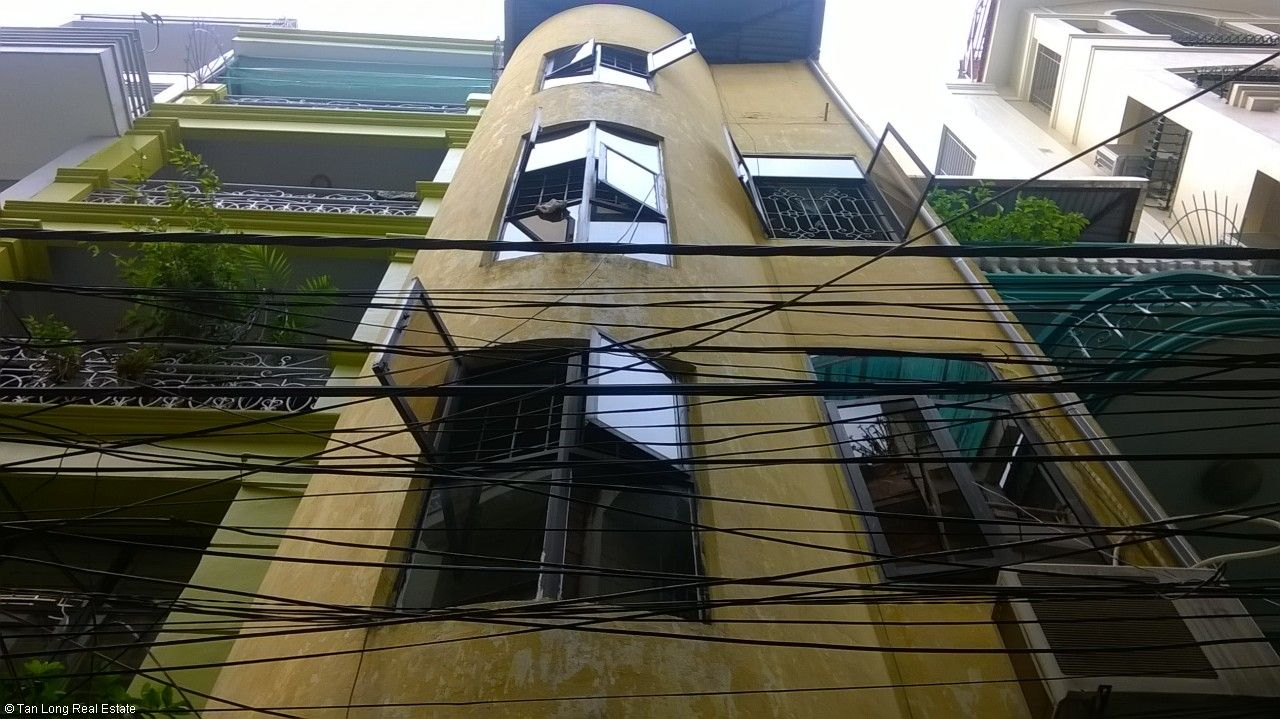 4 storey house for sale in Nguyen Dinh Chieu str, Hai Ba Trung dist, Hanoi 1