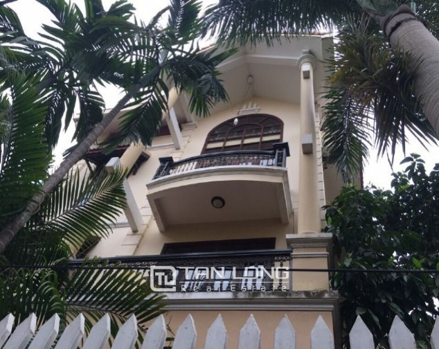 4 storey house to rent in Tay Ho street, no furniture 1