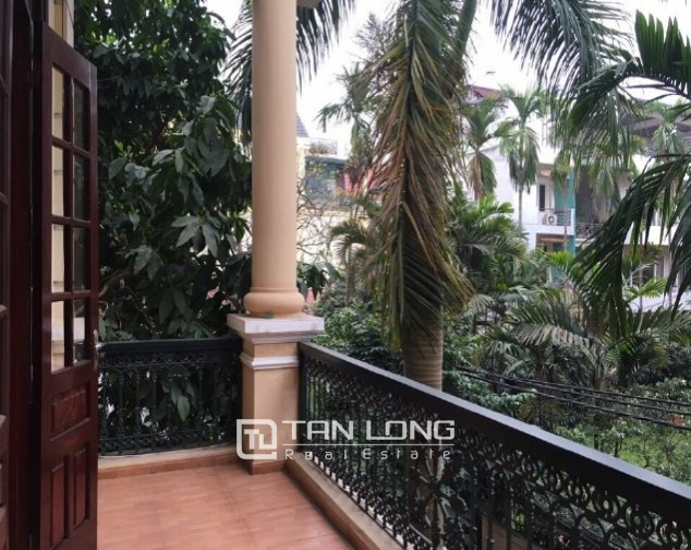 4 storey house to rent in Tay Ho street, no furniture 9