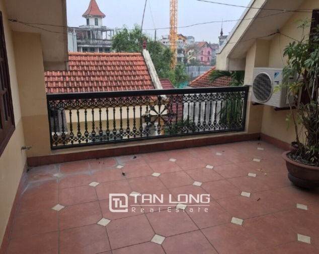 4 storey house to rent in Tay Ho street, no furniture 6