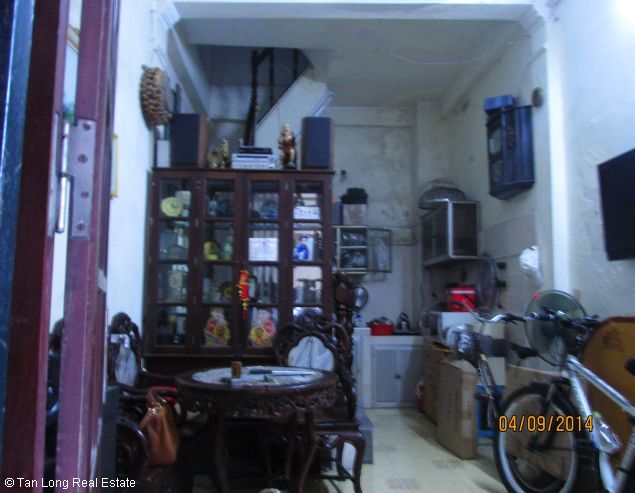 4-storey house for sale in Ngo Si Lien street, Dong Da district, Hanoi. 1