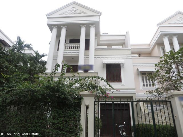 5 bedroom villa for rent in D2 Ciputra, Bac Tu Liem district, Hanoi 1