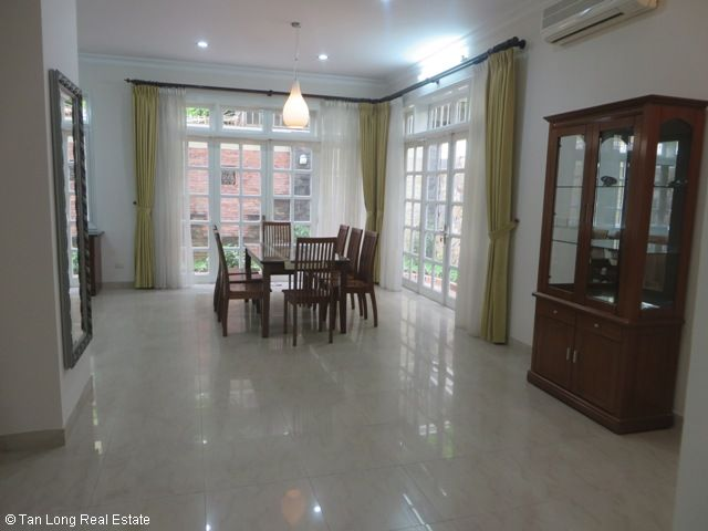 5 bedroom villa with garden for rent in D4 Ciputra, Bac Tu Liem dist, Hanoi 7
