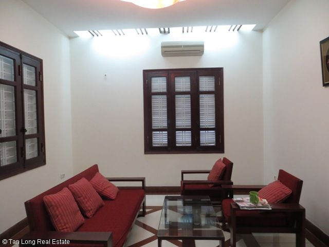 5 bedrooms, a green fully furnished villa for rent in Trung Hoa Nhan Chinh area, Cau Giay district, Hanoi 6