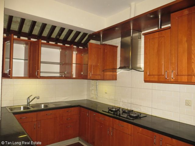 5 bedrooms, a green fully furnished villa for rent in Trung Hoa Nhan Chinh area, Cau Giay district, Hanoi 7