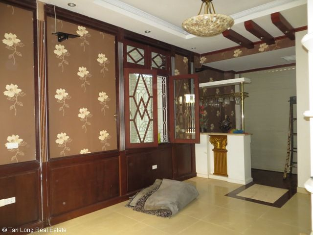 5 bedrooms, a nice house for rent on Trung Kinh street, Yen Hoa, Cau Giay district 5