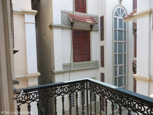 5 bedrooms, a nice house for rent on Trung Kinh street, Yen Hoa, Cau Giay district 7