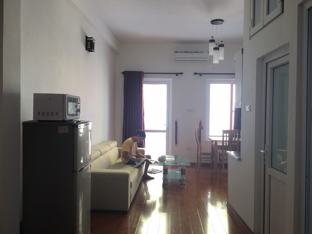 50m2 apartment to rent with 1 bedroom in Yen Phu, Tay Ho district