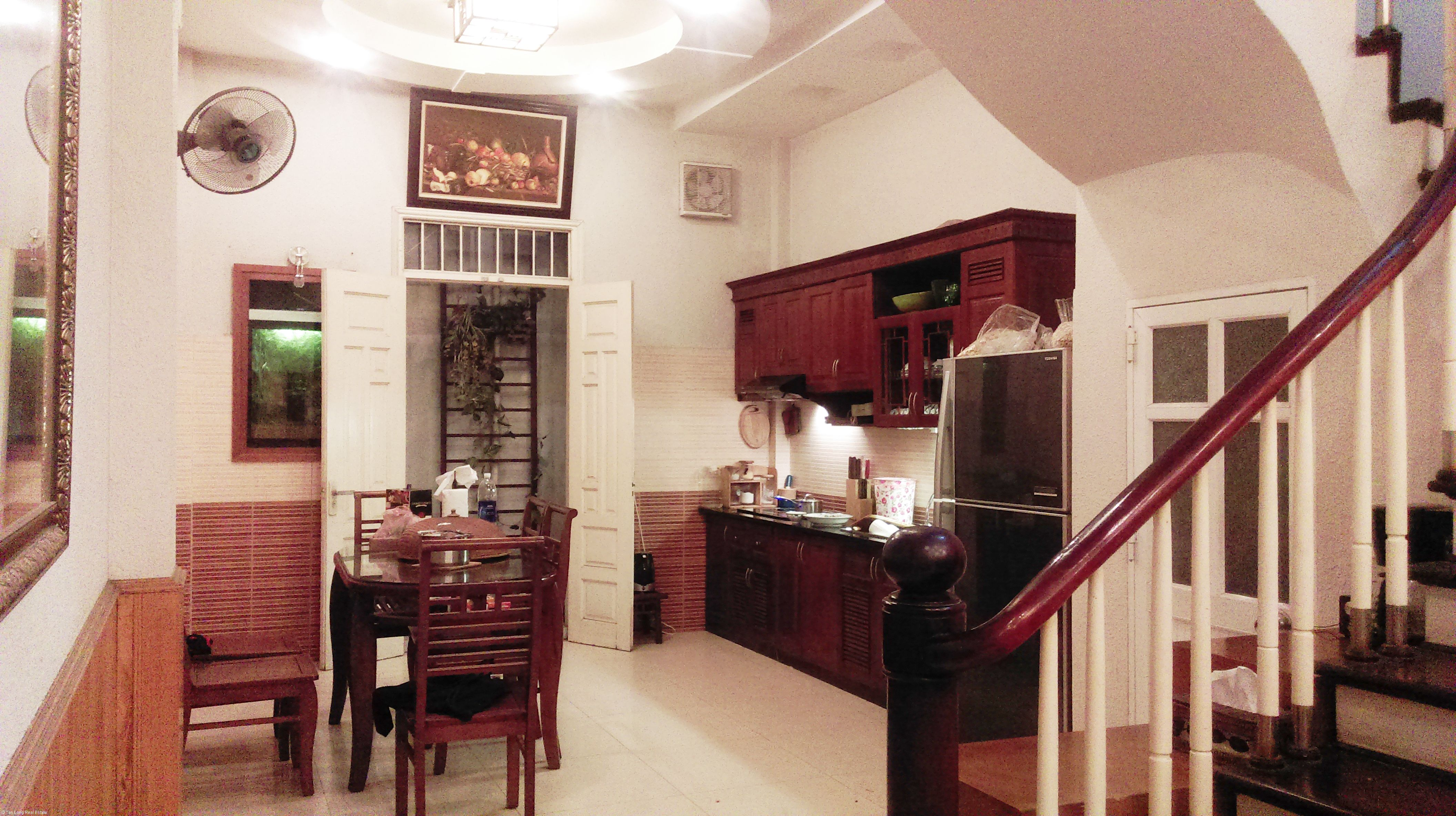 5-storey house for rent in Van Chuong lane, Dong Da district, Hanoi 1
