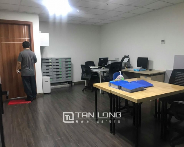 9 stories building for rent on Pham Huy Thong street, Ba Dinh 4