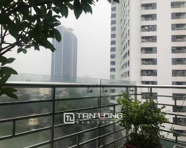 9 stories building for rent on Pham Huy Thong street, Ba Dinh 7