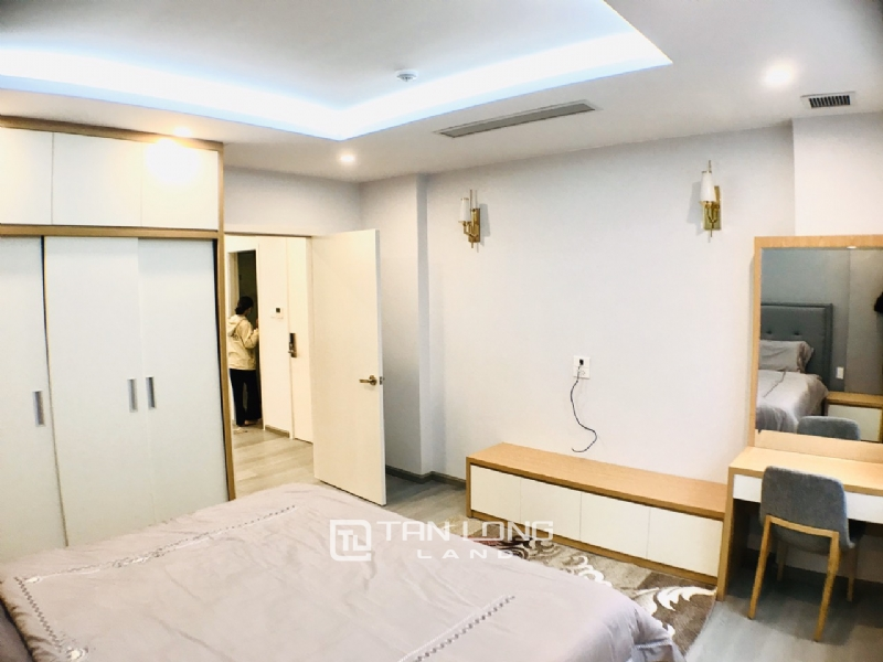 90sqm-2 bedrooms service apartment for rent in To Ngoc Van street, Tay ho district 10