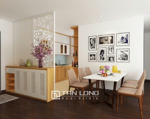 A 3-bedroom apartment for rent in Tay Ho district! 3