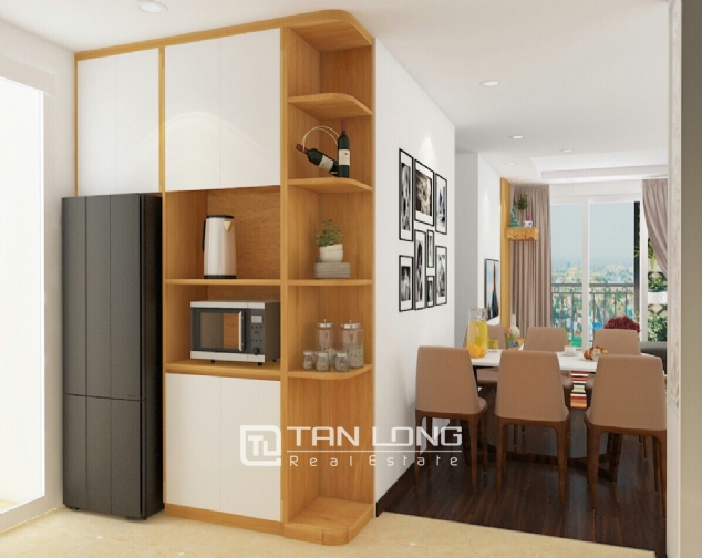 A 3-bedroom apartment for rent in Tay Ho district! 4