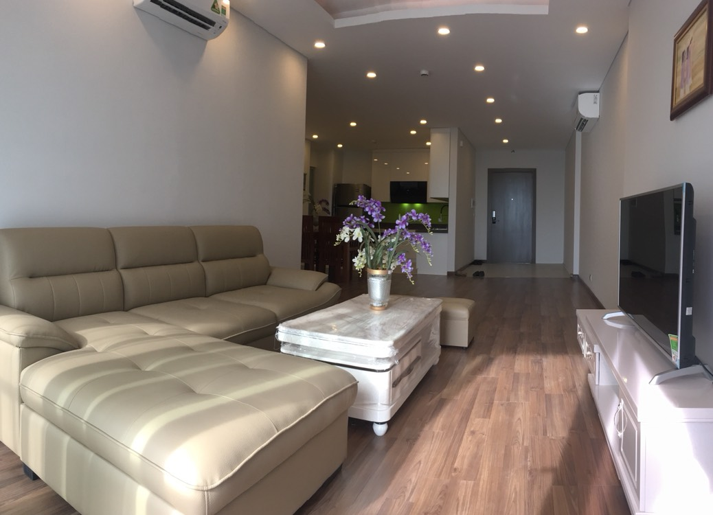A 3-bedroom apartment for rent on the diplomatic corps area in Nothern Tu Liem district!