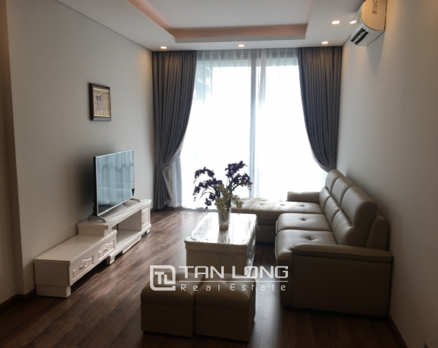 A 3-bedroom apartment for rent on the diplomatic corps area in Nothern Tu Liem district! 4