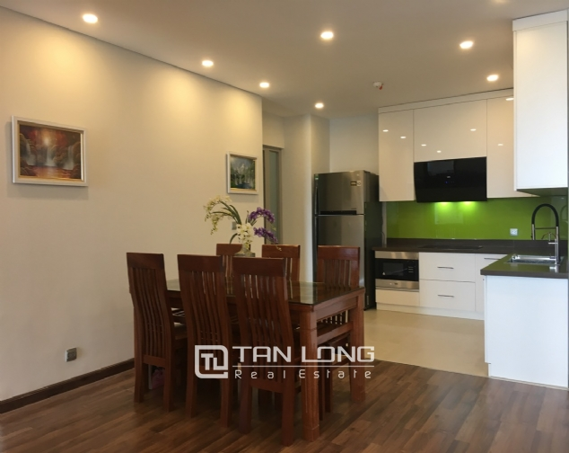 A 3-bedroom apartment for rent on the diplomatic corps area in Nothern Tu Liem district! 7