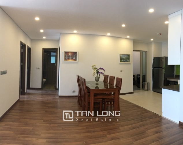A 3-bedroom apartment for rent on the diplomatic corps area in Nothern Tu Liem district! 8