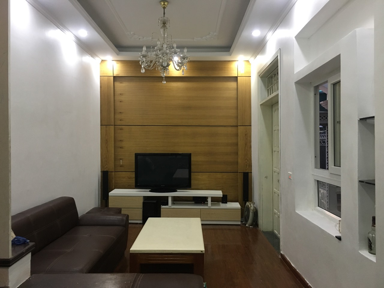 A 4-bedroom house for rent in Thuy Khe street, Tay Ho district, Hanoi!