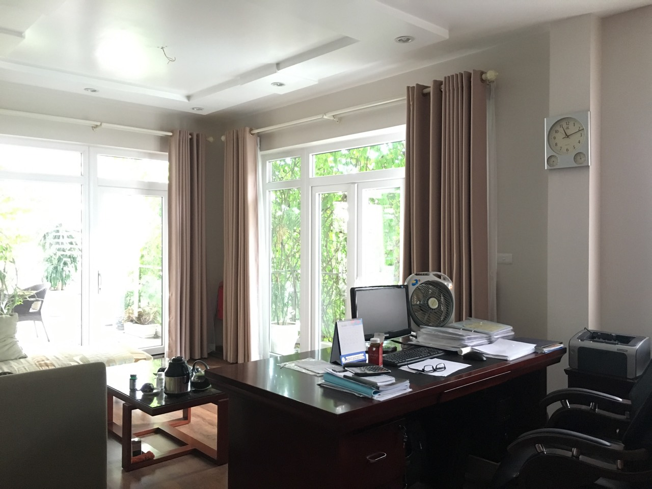 A 5-storey house for rent on Nguyen Hoang Ton - Peach Garden, Tu Liem district!