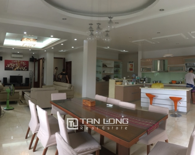 A 5-storey house for rent on Nguyen Hoang Ton - Peach Garden, Tu Liem district! 5