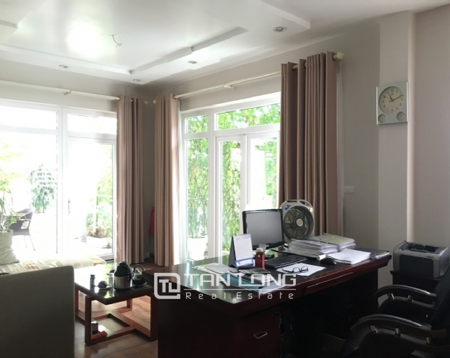A 5-storey house for rent on Nguyen Hoang Ton - Peach Garden, Tu Liem district! 4