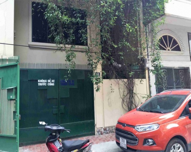 A house for rent on Dinh Cong Trang with 4 storeys 10