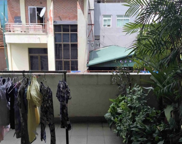 A house for rent on Dinh Cong Trang with 4 storeys 7