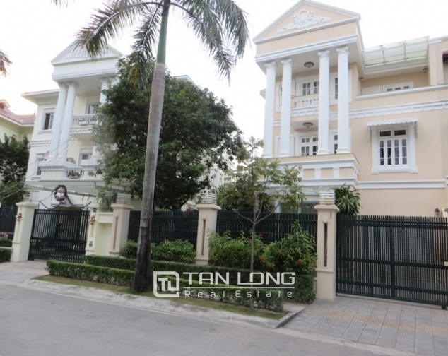 A magnificent 4 bedroom villa for rent in C7, Ciputra Hanoi 1