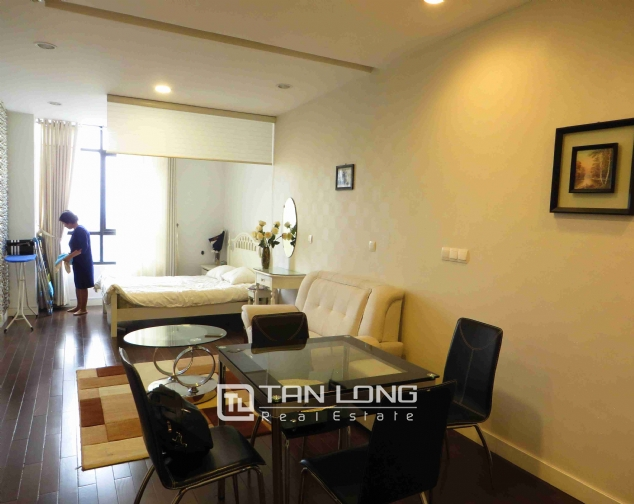 A nice 1 bedroom apartment for rent in Lancaster Tower, Nui Truc str, Ba Dinh dist 3
