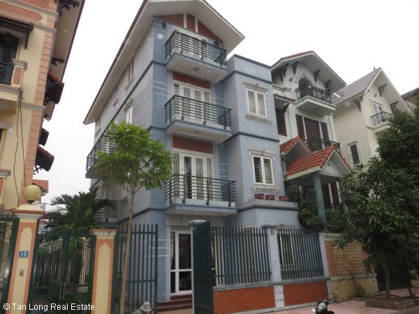 A quite almost furnished 5 bedroom house to rent in Sai Dong, Long Bien district, Hanoi 2