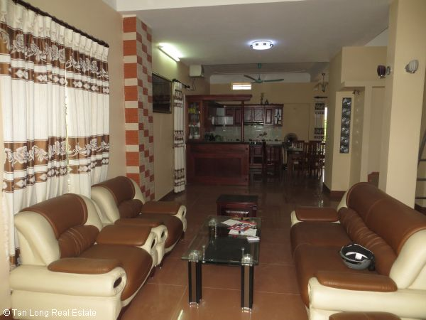 A quite almost furnished 5 bedroom house to rent in Sai Dong, Long Bien district, Hanoi 5