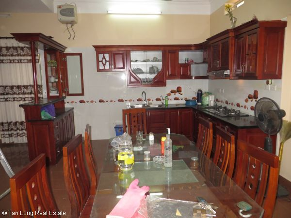 A quite almost furnished 5 bedroom house to rent in Sai Dong, Long Bien district, Hanoi 6