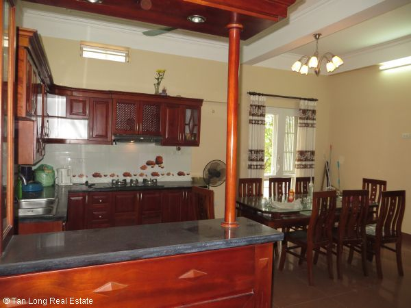 A quite almost furnished 5 bedroom house to rent in Sai Dong, Long Bien district, Hanoi 7