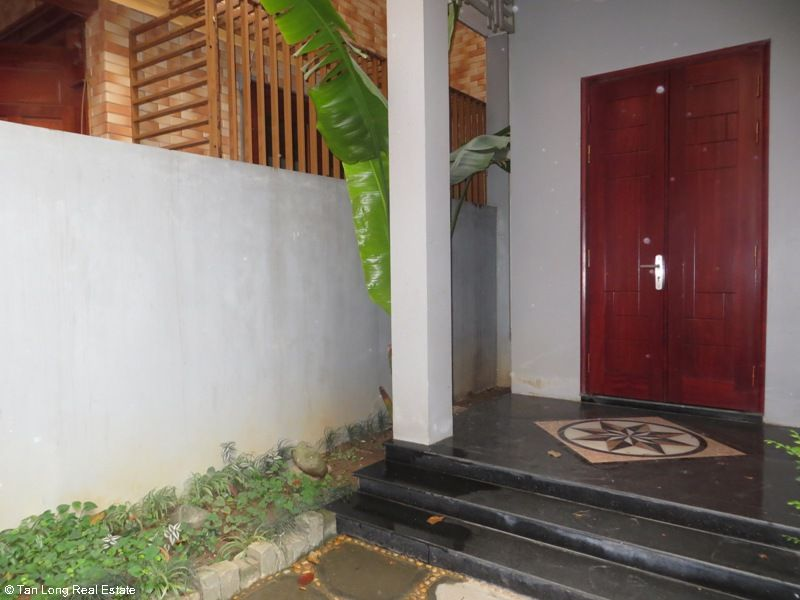 A semi furnished 5 bedroom house to rent on Pham Hung street, My Dinh 2, Nam Tu Liem district 3