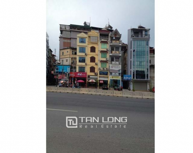 A six storey house for rent at Đuong Lang, Đong Đa district, Hanoi 1