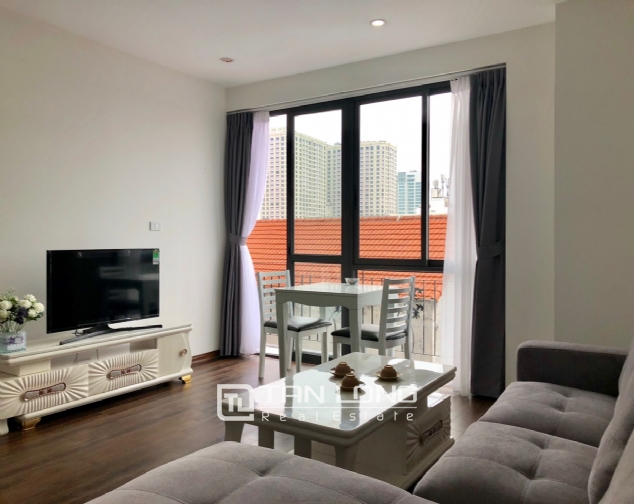 Airy and bright apartment for rent in To Ngoc Van street, Tay Ho district! 2