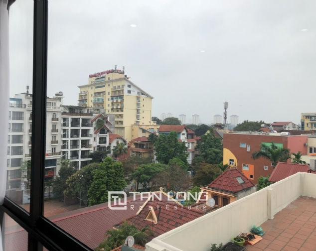 Airy and bright apartment for rent in To Ngoc Van street, Tay Ho district! 8