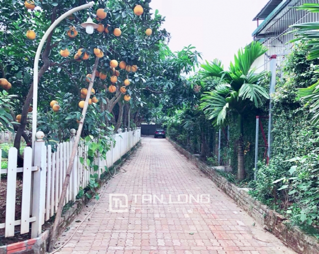 An Europe style house which is closed to nature on An Duong street, for rent! 1