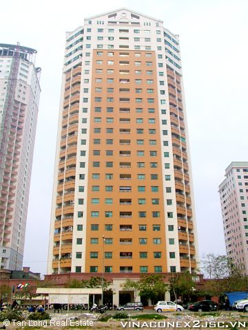 Apartment for rent at 24T2 Trung Hoa Nhan Chinh, well equipped 1