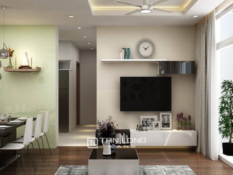 Apartment for rent in Helios Tower 75 Tam Trinh, Hoang Mai, area 65m2, price 7.5 million VND / month 1