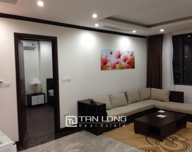 Apartment for rent in Platinum Residences on Nguyen Cong Hoan street, Ba Dinh district! 1