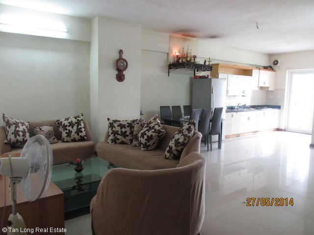 Apartment for rent in Vuon Dao, Tay Ho district, Ha Noi. 2