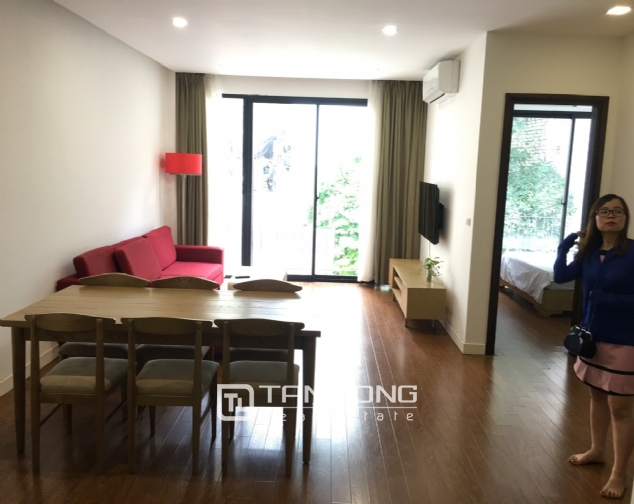 Apartment for rent on To Ngoc Van street, Tay Ho district! 1