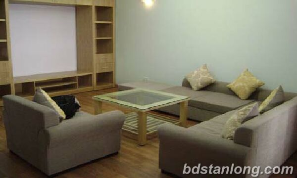 Apartment in Thuy Khue building, Tay Ho for rent.