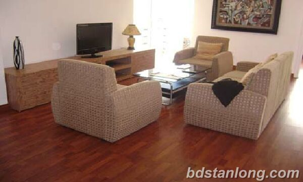 Apartment with 3 bedrooms in Ciputra, Tay Ho for rent