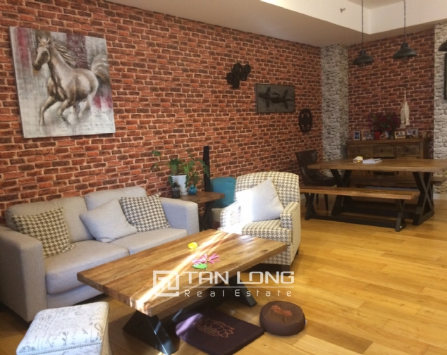 Apartments for rent are super unique design in Xuan Thuy Street, Cau Giay District, Hanoi. 2