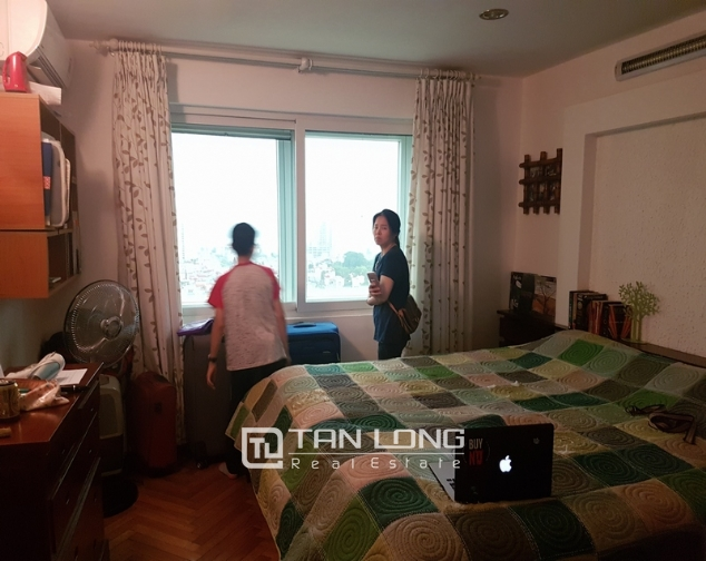 Apartments for rent in Ciputra urban area, Nguyen Hoang Ton Street, Tay Ho District, Hanoi. 4